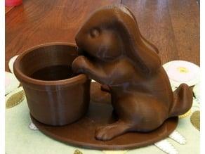 Easter Bunny Planter