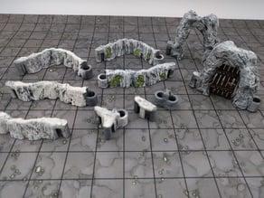 DungeonSticks: Caverns - Dry Caverns