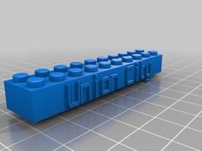 Union City Custom Lego Block