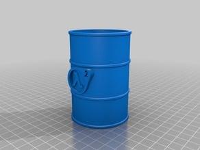 Half Life2 Barrel Pen holder Storage Container