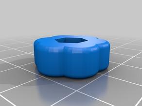 Anet A8 bed leveling knob v2 for 6-32 nut/bolt