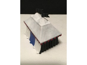 Miniature Tournament Tent