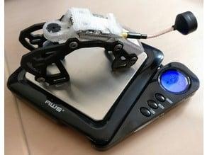 AirBlade Eclair V2 Lite Backpack: VTX, Buzzer, GPS, antenna