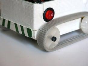 Flexible tank tracks