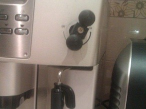 Delonghi Coffee maker steamer handle