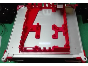 Anet A8 hot bed glass clamps
