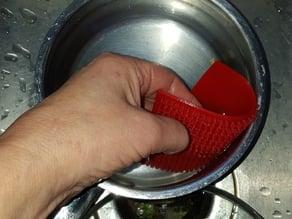 Scrubbie (flexible filament)