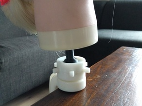 Doll head table clamp part