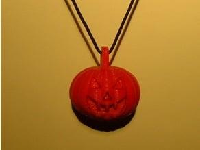 Pumpkin Halloween Pendant