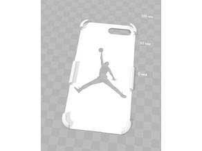 Air Jordan logo Iphone 8 plus case