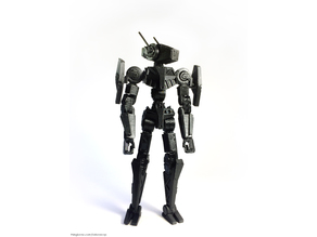 Snap Bots: Artemis - Posable Snap-Together Action Figure