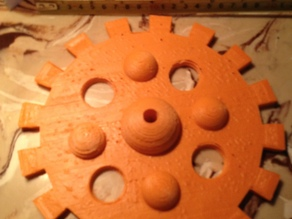 8 inch 4 inch and 2 inch bubble gear