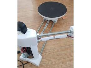 Ciclop 3D scanner platform disk