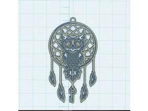 Owl the key to dreams - Chouette la clé des rêves