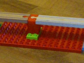 Duplo compatible Brio bridge parts