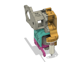 BNBSX Extruder Body with BL Touch Mount