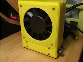 3D Printed Solder Fume Extractor (HEPA Filter)