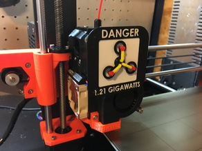 Prusa MK3 Rotation Indicator Flux Capacitor