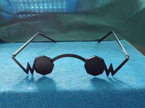 RWBY Professor Ozpin Glasses Cosplay