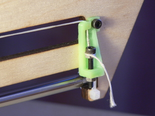 Printrbot Simple Y axis string tensioner