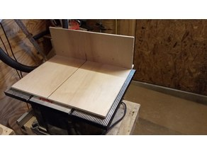Simple cross cut sled for Harbor Freight table saw