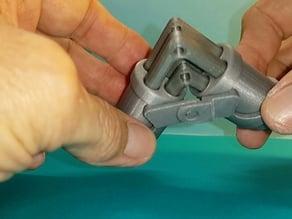 Joint de Koenigs - variante axe et angle fixe