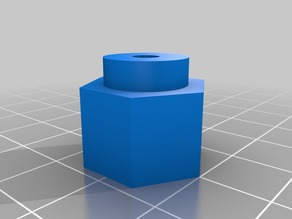 Hex adapter 17mm to 12mm