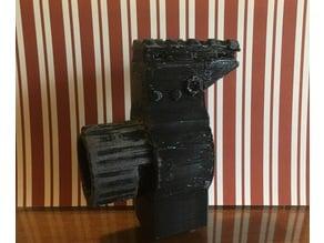 Nerf Desolator N-Strike Barrel adapter mod