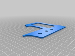 Printer Friendly AMGP 3D Printable Guitar