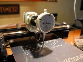 Makergear M2 Dial Indicator Mount (V4 extruder)