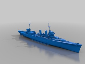 Warship - CA-32 New Orleans (1/10)