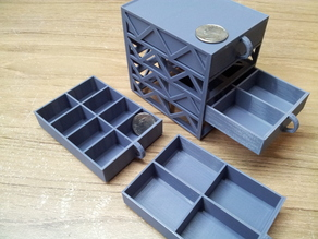 Mini drawers stackable