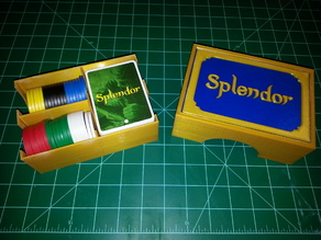 Splendor Game Organizer Two Color Print