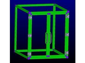 ANY 3D PRINTER FULLY PRINTABLE ENCLOSURE FRAME