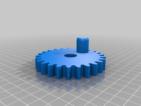Refrigerator Magnet Gear Spinners ( Remix )