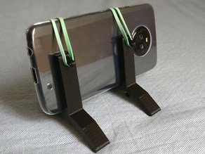Simple phone picture stand