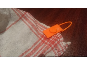 Screwable towel (cloth) clip