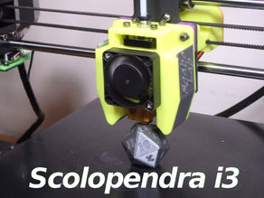 E3Dv5 - Scolopendra i3 Cooler for i3mega and other
