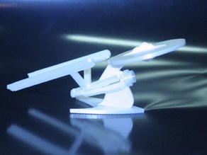 3D Printable Star Trek Enterprise