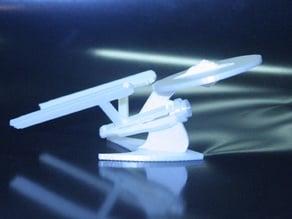 3D Printable Star Trek Enterprise