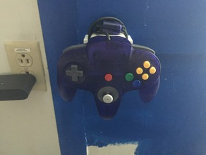 N64 Controller Wall Mount