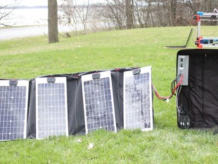 Portable Solar Powered 3D Printing System