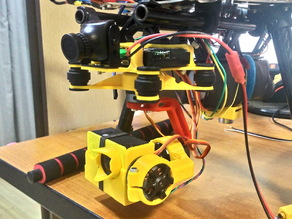 Gimbal 3 axis for eken h9 and s500 s550 storm32 mount