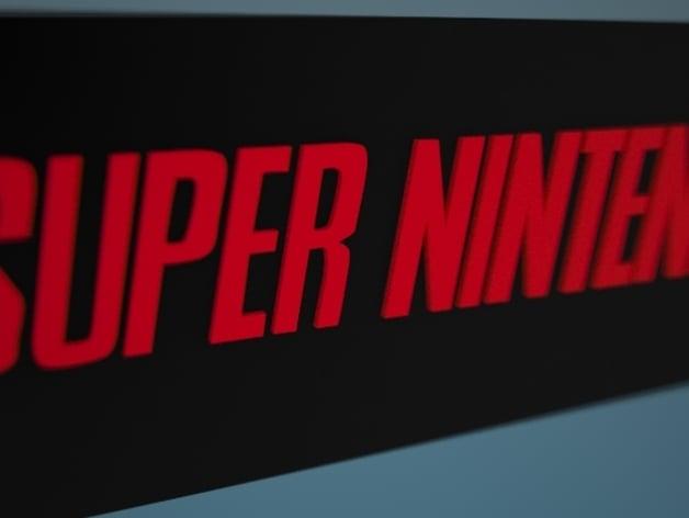 Verse Logo Super Nintendo (SNES) ...