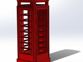 British K6 Telephone Box