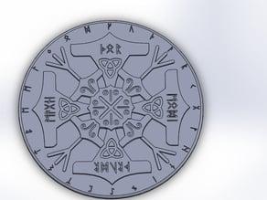 Thor's symbol - emblem