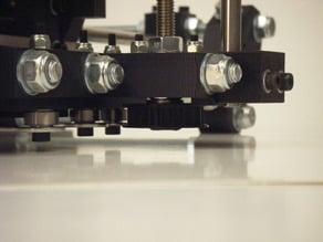 Reprap Captured Z axis pulleys
