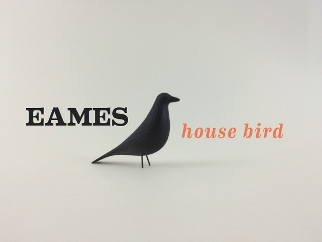eames house bird by ibudmen thingiverse. Black Bedroom Furniture Sets. Home Design Ideas