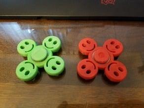 Small Happy Face Fidget Spinner