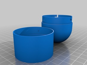 Round Topped Container